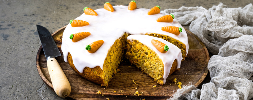 Saftiger Karottenkuchen - gebacken im Multikocher