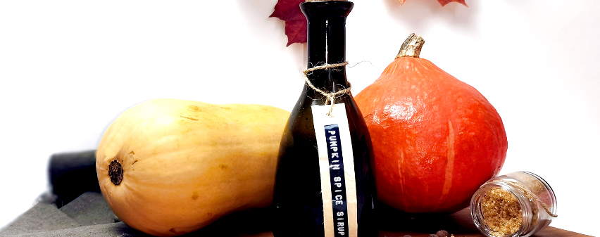 Pumpkin spice Sirup selbstgemacht im Multikocher