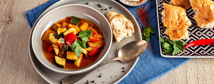 würziges Kartoffel-Zucchini Curry